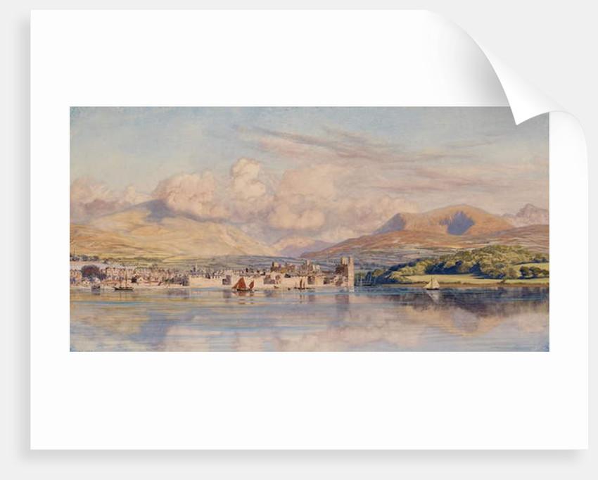 Caernarvon, 1875 by John Brett