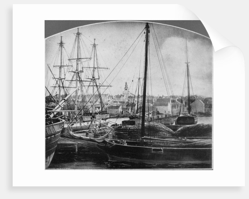 Whaling Port, New Bedford by American Photographer