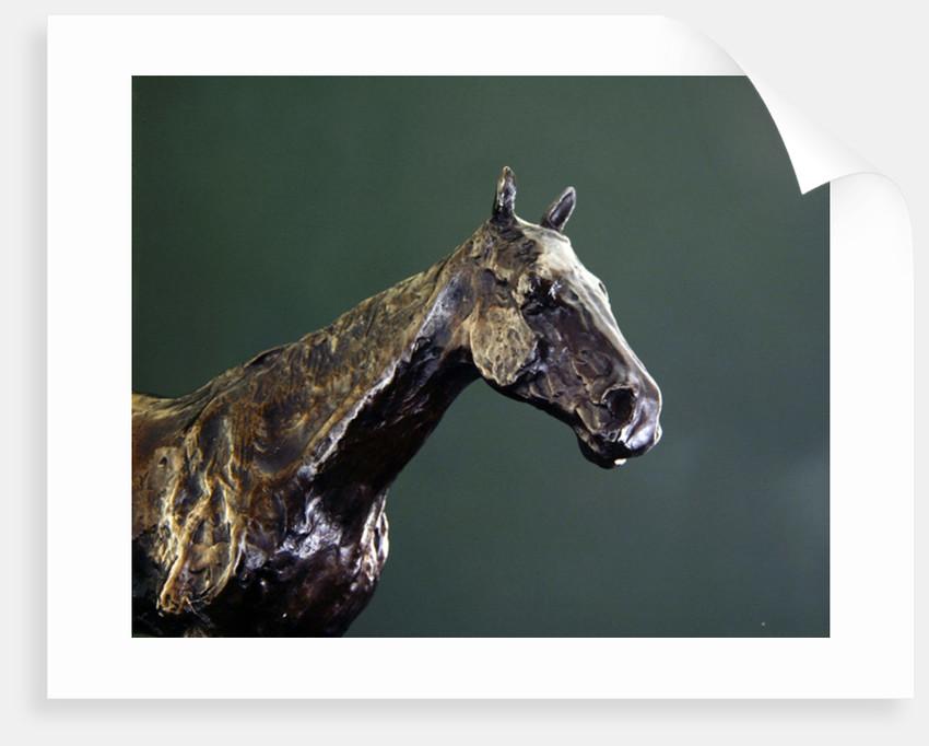 Horse's Head by Edgar Degas