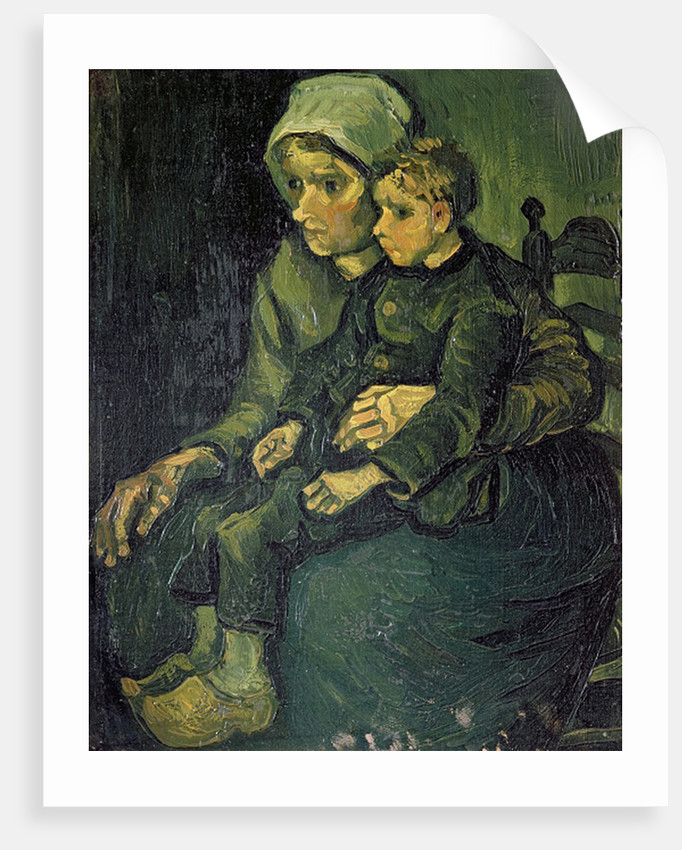 Mother and Child by Vincent van Gogh