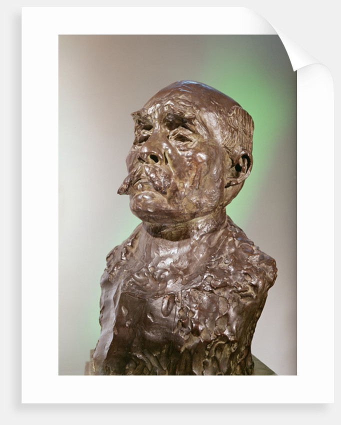 Bust of Georges Clemenceau by Auguste Rodin