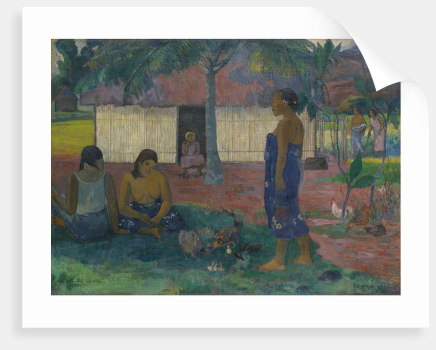 Why Are You Angry?, 1896 by Paul Gauguin