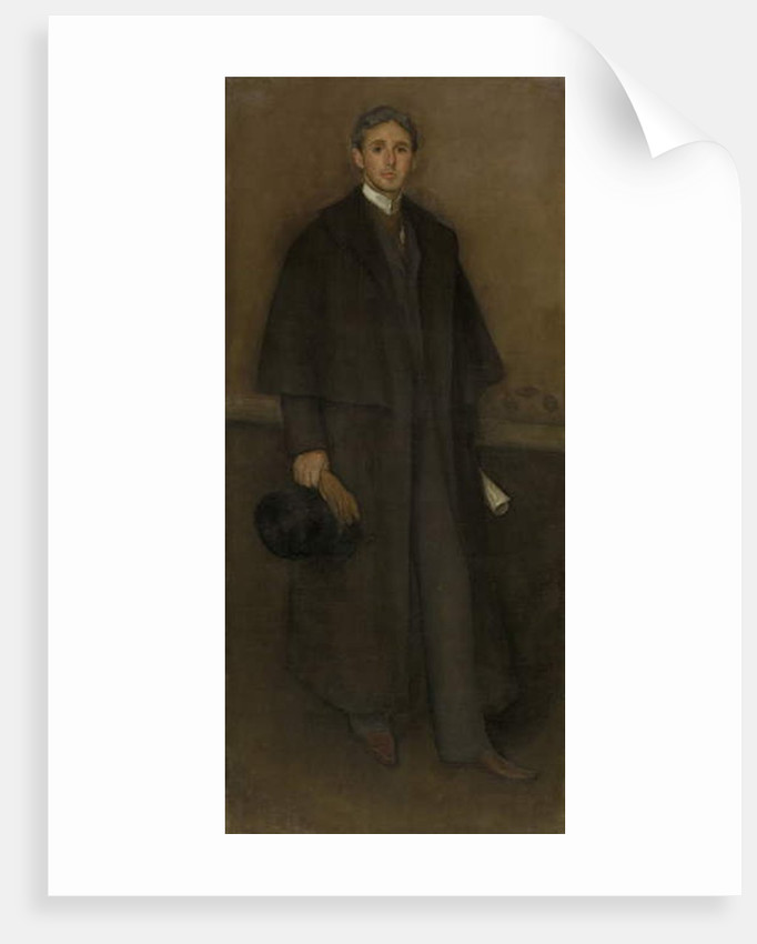 Arrangement in Flesh Color and Brown: Portrait of Arthur Jerome Eddy, 1894 by James Abbott McNeill Whistler