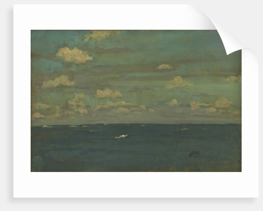 Violet and Silver - The Deep Sea, 1893 by James Abbott McNeill Whistler