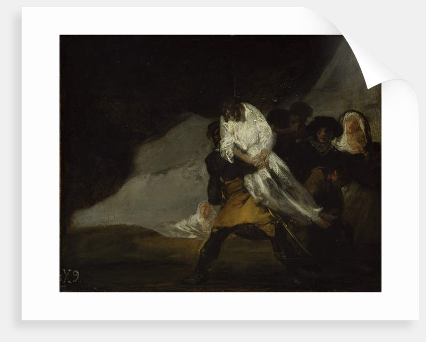 The Hanged Monk, c.1810 by Francisco Jose de Goya y Lucientes
