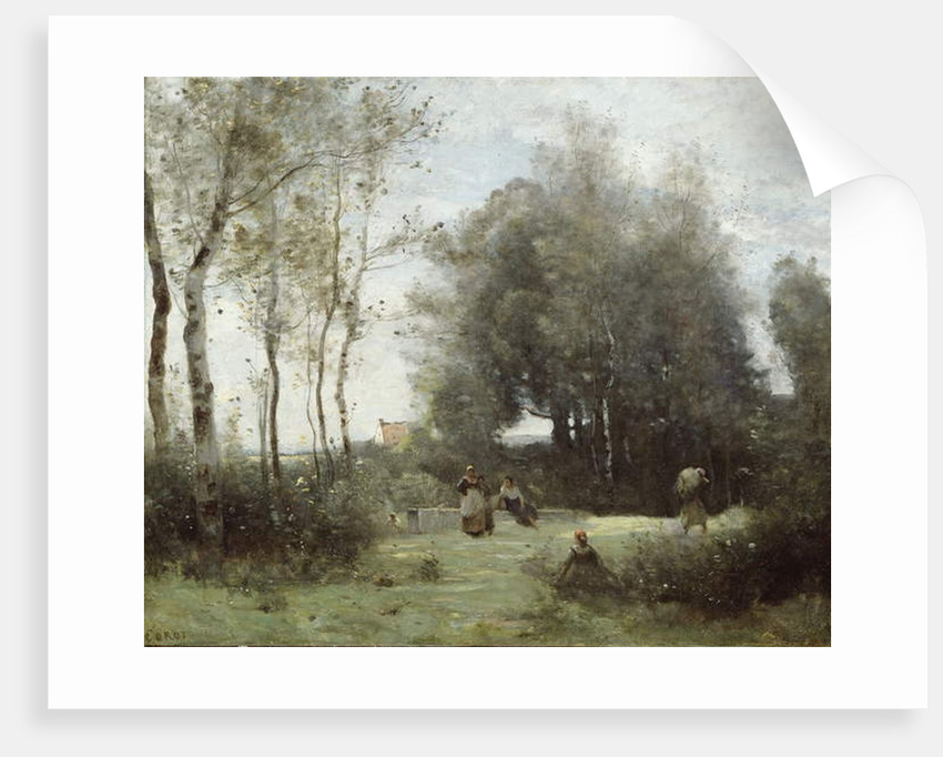 Arleux-Palluel, The Bridge of Trysts, 1871–72 by Jean Baptiste Camille Corot