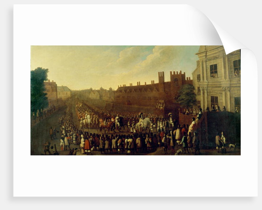 The Restoration of Charles II at Whitehall on 29 May 1660 by Isaac Fuller