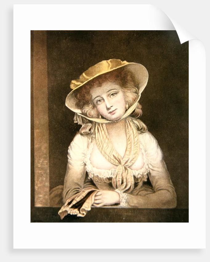 Portrait of Sophia Western by John Hoppner