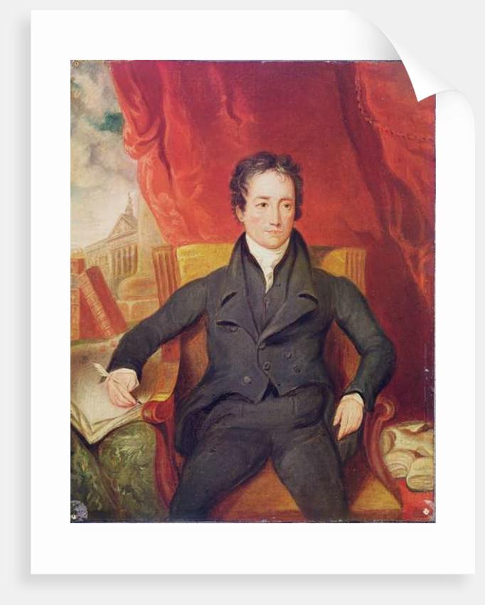 Portrait of Charles Lamb by English School