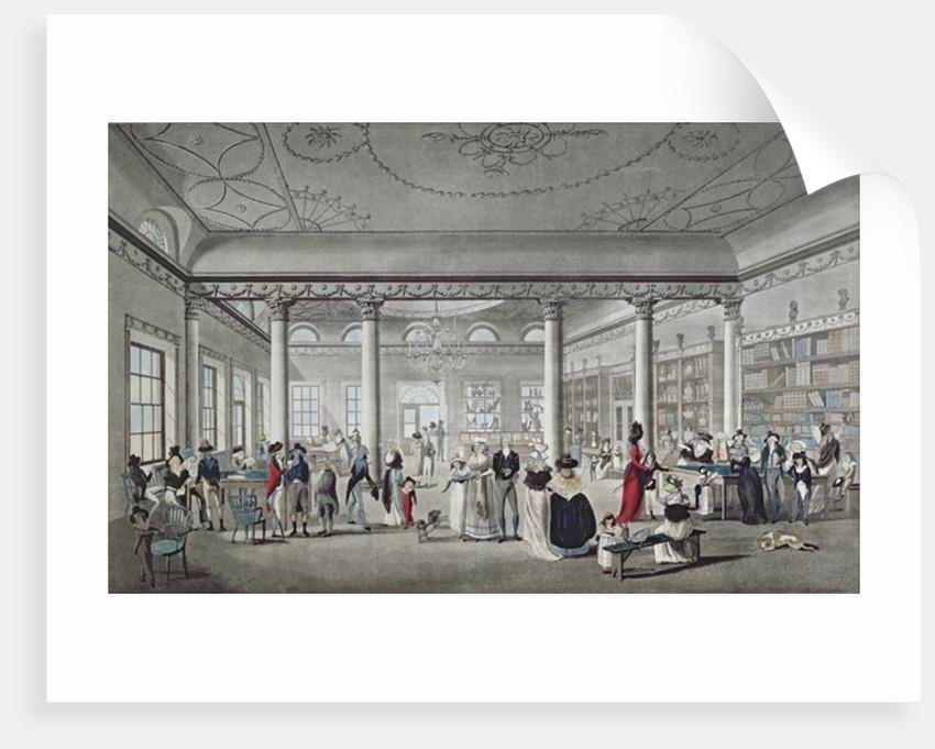 Hall's Library at Margate by Thomas Malton
