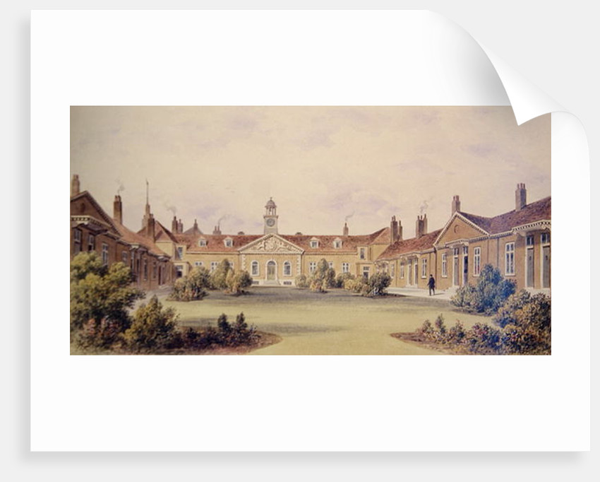 Emanuel Hospital, Tothill Fields by Thomas Hosmer Shepherd