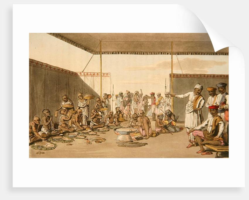 A Marratta Surdar entertaining Brahmuns by Thomas Baxter