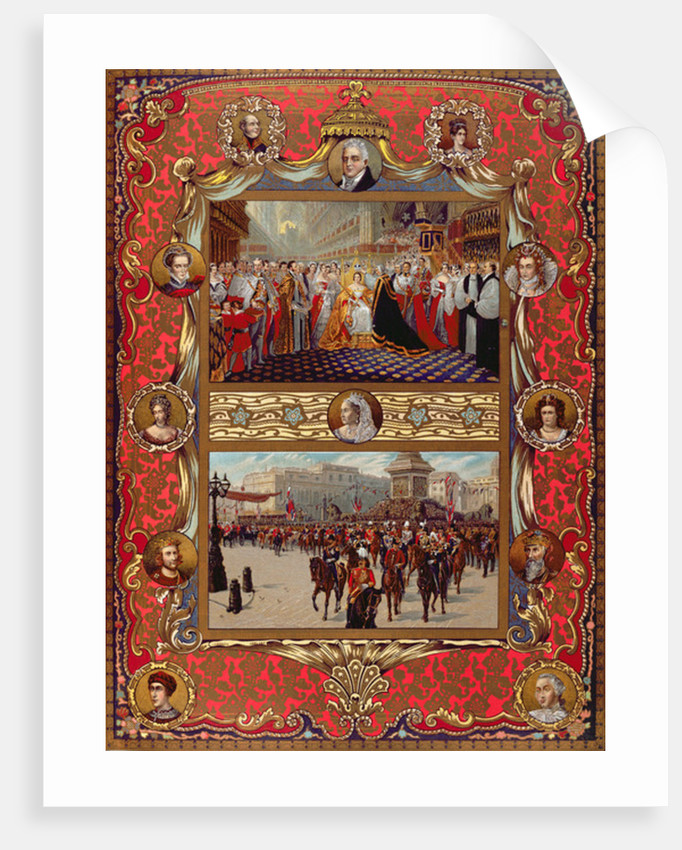 In Commemoration of Queen Victoria's Jubilee,from 'The Illustrated London News' by English School