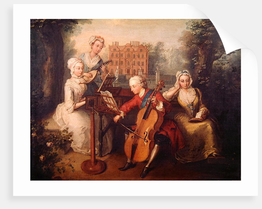 Frederick, Prince of Wales and his Sisters by Philippe Mercier