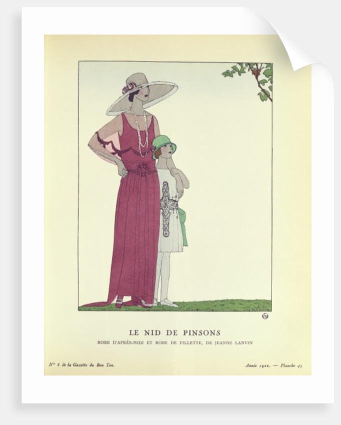 Le Nid de Pinsons by French School