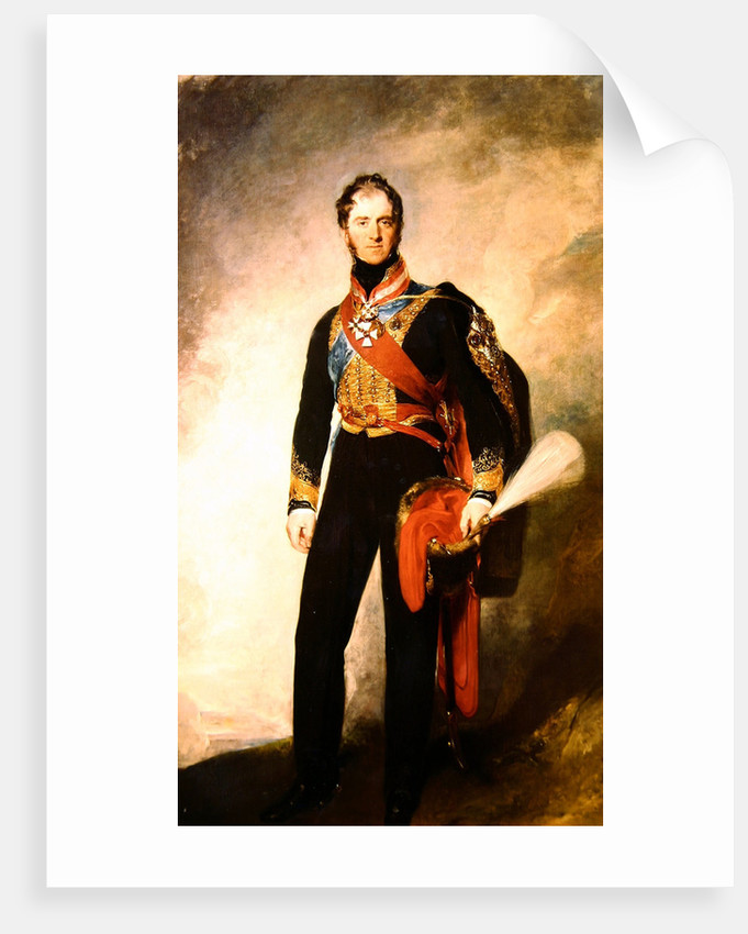 Henry William Paget, 1st Marquis of Anglesey by Sir Thomas Lawrence