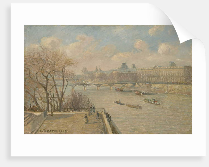 The Louvre from the Pont Neuf, 1902 by Camille Pissarro
