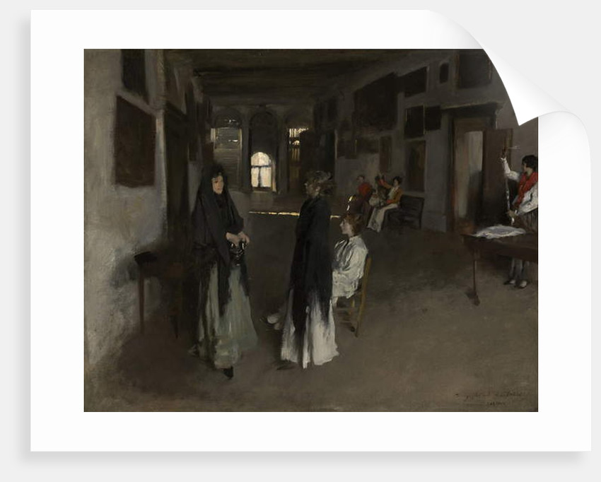 A Venetian Interior, c.1880-82 by John Singer Sargent