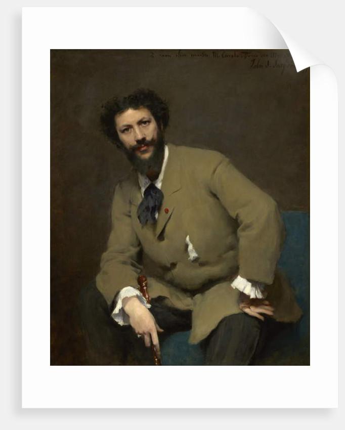 Portrait of Carolus-Duran, 1879 by John Singer Sargent
