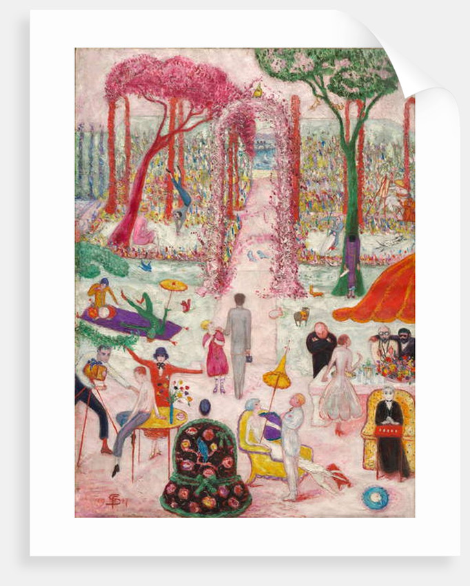 Sunday Afternoon in the Country, 1917 by Florine Stettheimer