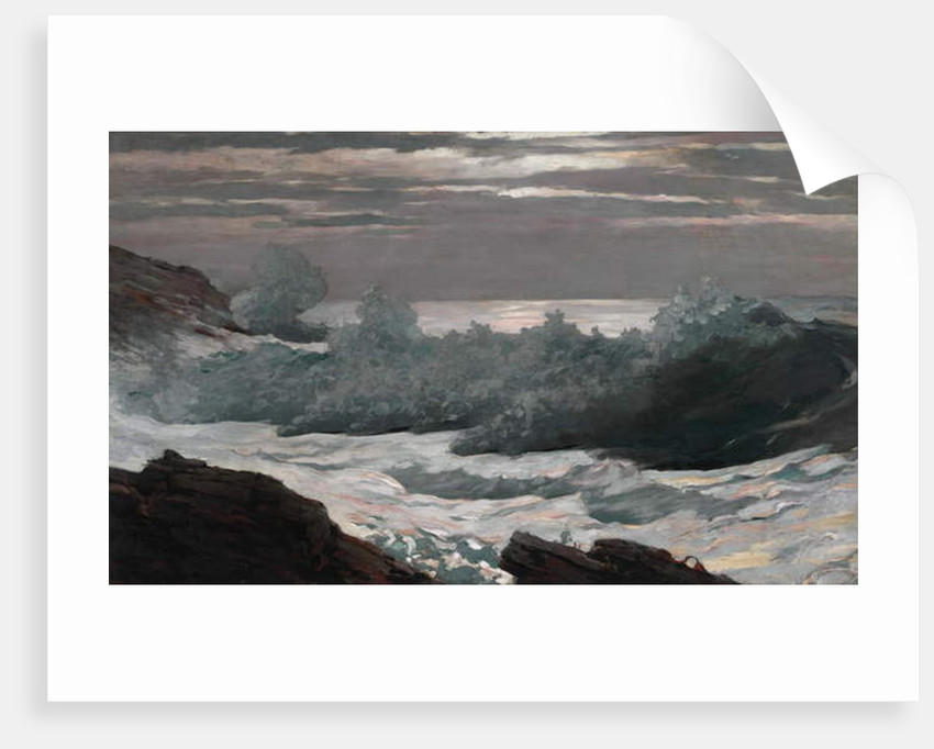 Early Morning After a Storm at Sea, 1900-02 by Winslow Homer
