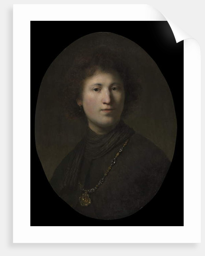 A Young Man with a Chain, c.1630 by Rembrandt Harmensz. van Rijn