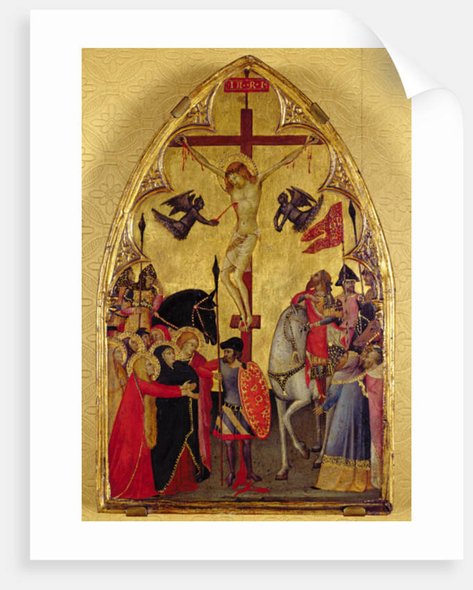 The Crucifixion by Master of the Pieta