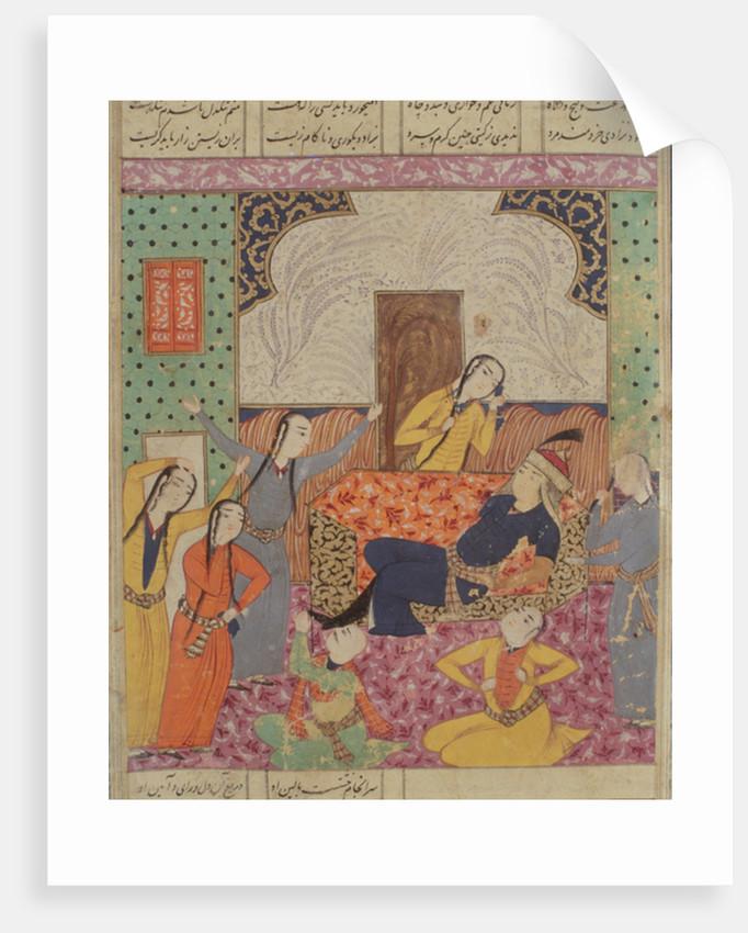 The Lamentation of Farude by Persian School