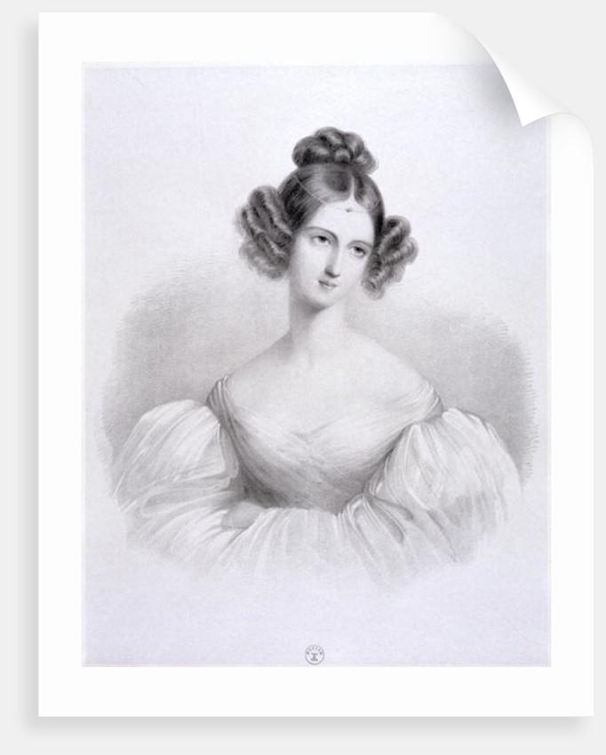 Delphine Potocka (nee Komarow) by French School