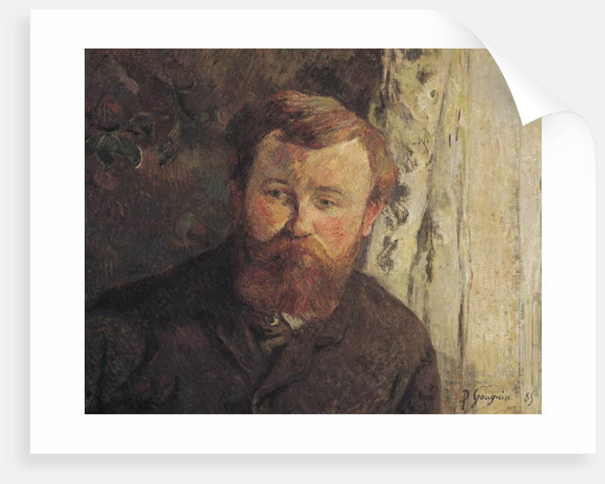 Portrait of Achille Granchi Taylor by Paul Gauguin