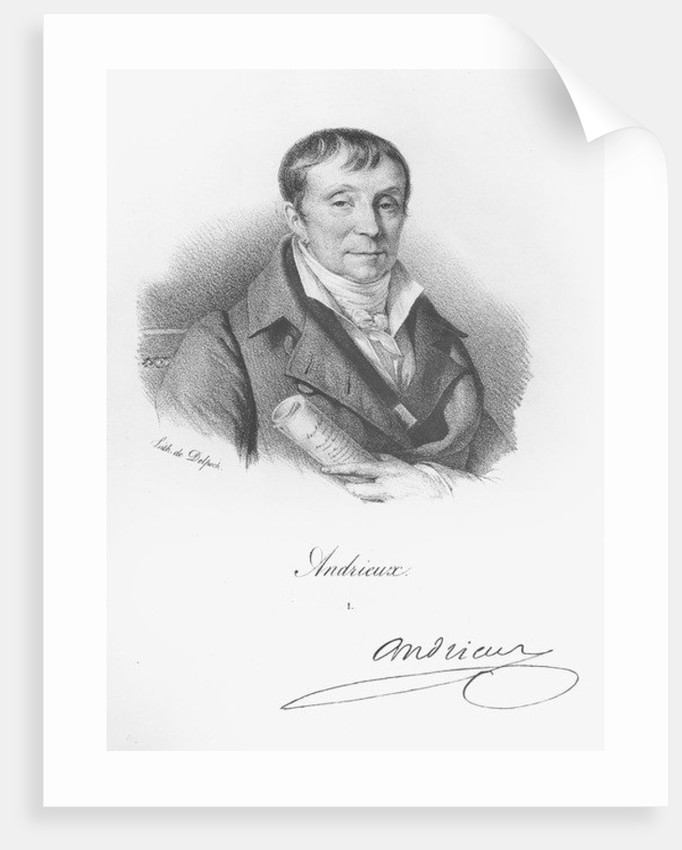 Francois Andrieux by Francois Seraphin Delpech