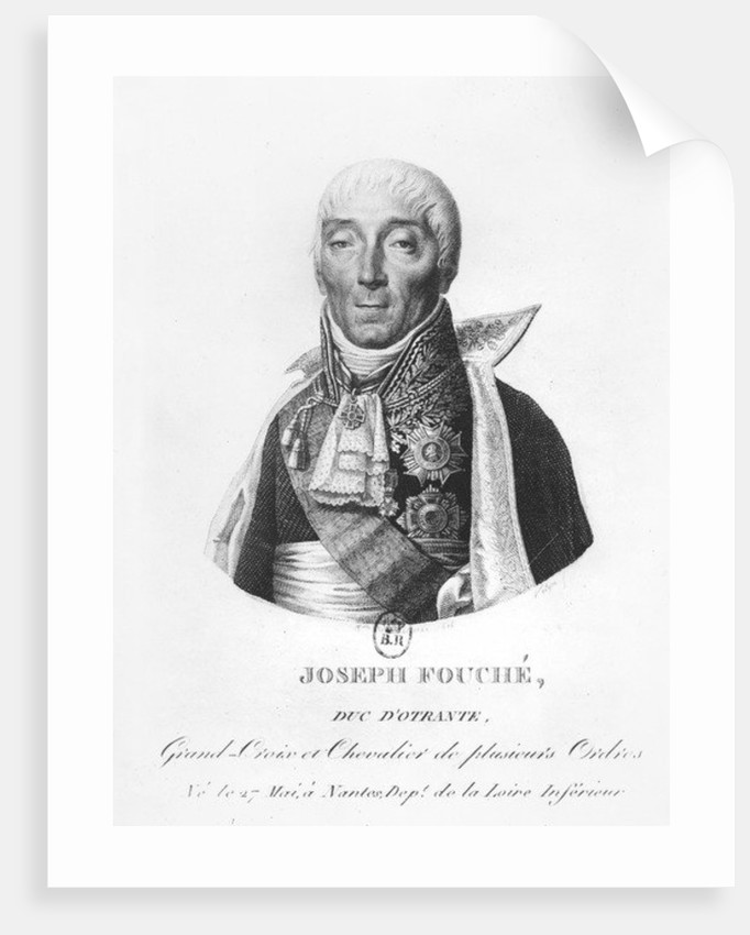 Joseph Fouché, Duke of Otranto by Philippe Velyn