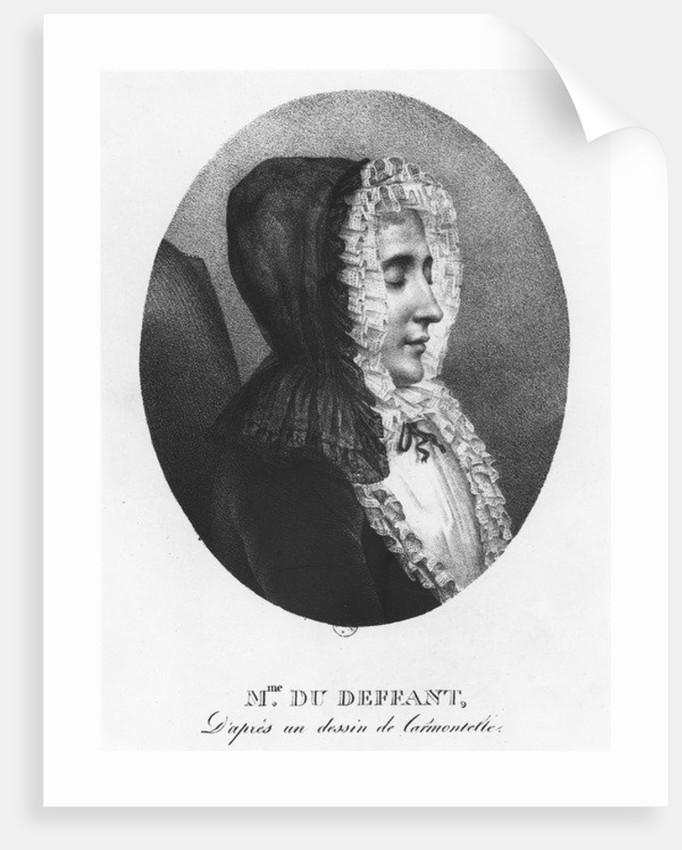 Madame du Deffand by Villain