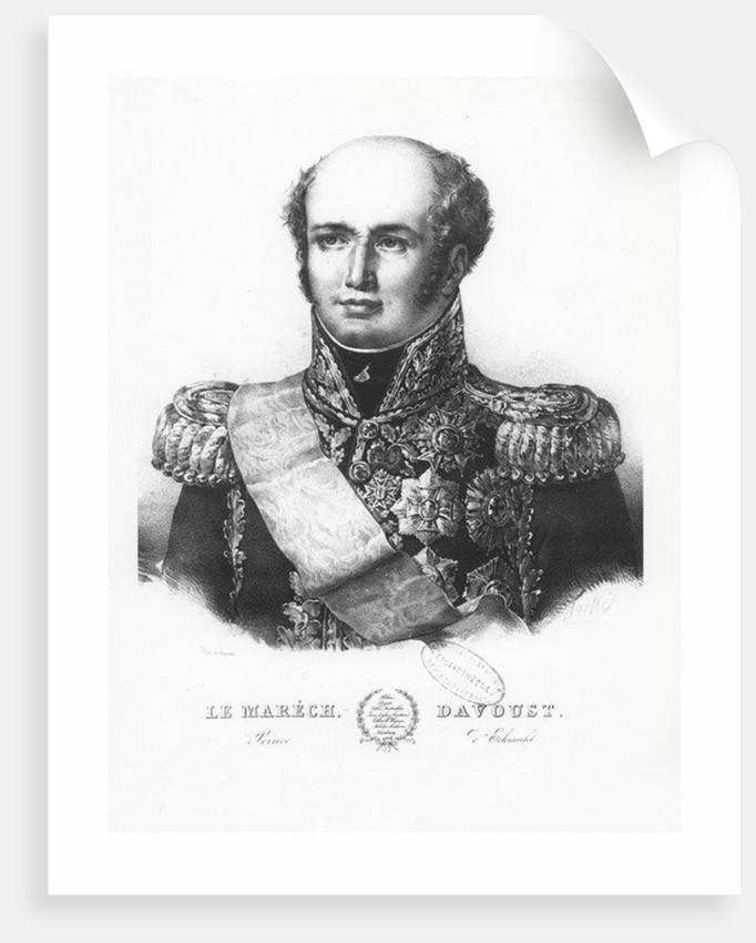 Louis Nicolas d'Avout, Duke of Auerstaedt by Louis Francois Couche