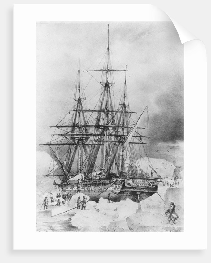 Expedition of Dumont d'Urville in 1837-38 in the Antarctic by French School