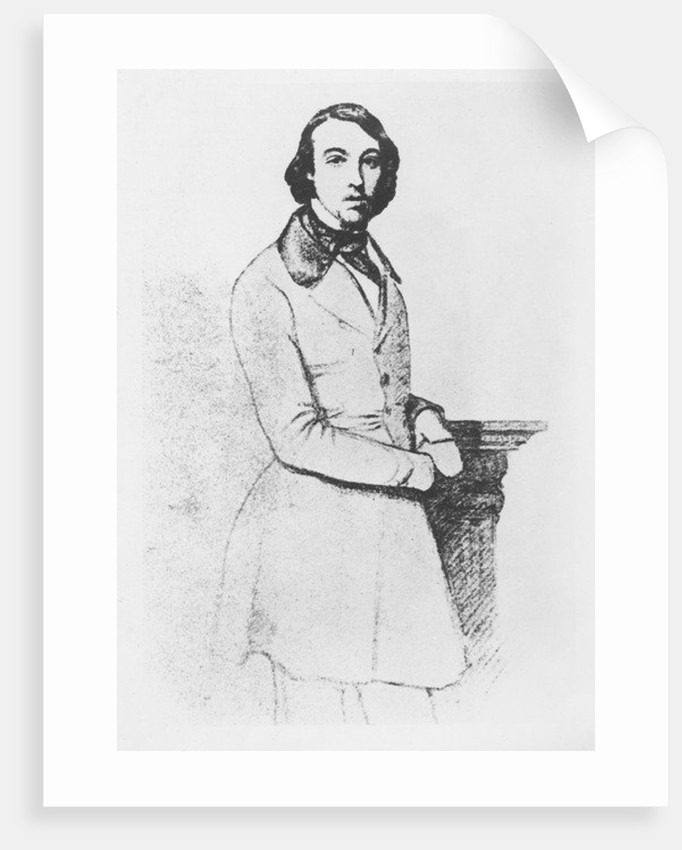 Portrait of Comte de Gobineau by German von Bohn