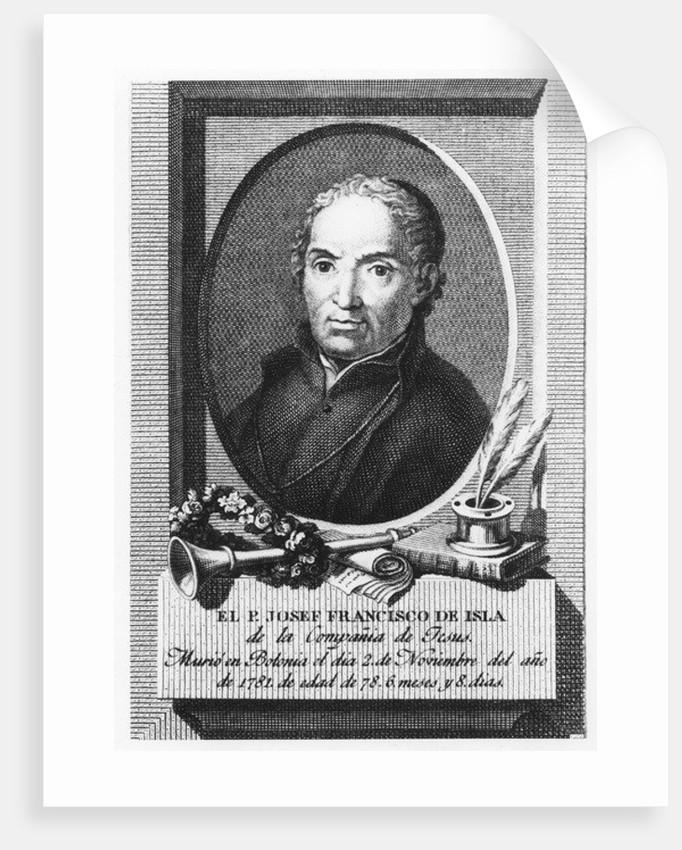 José Francisco de Isla by Spanish School