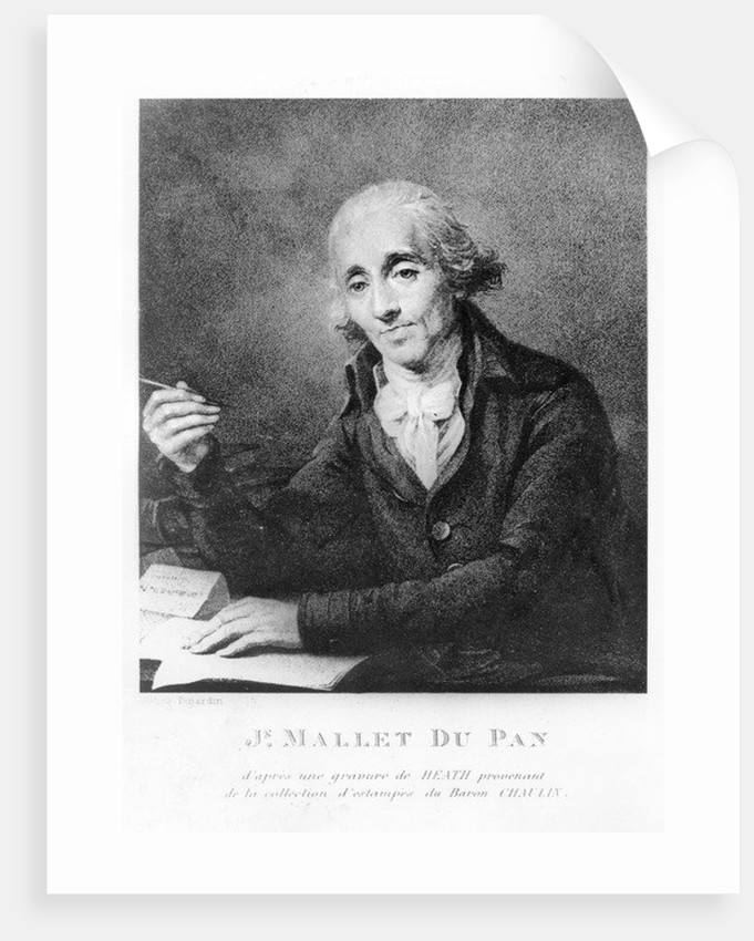 Jacques Mallet du Pan by James Heath