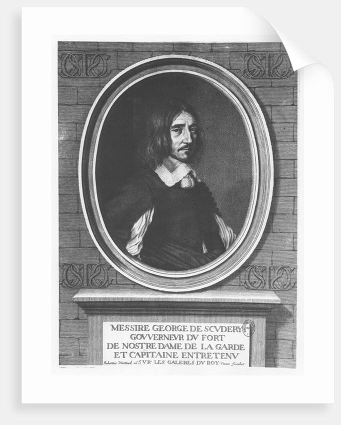Georges de Scudéry by Robert Nanteuil