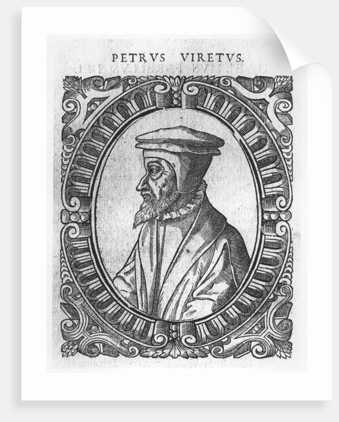Pierre Vinet, after the 'Icones' by Theodore de Beze by French School