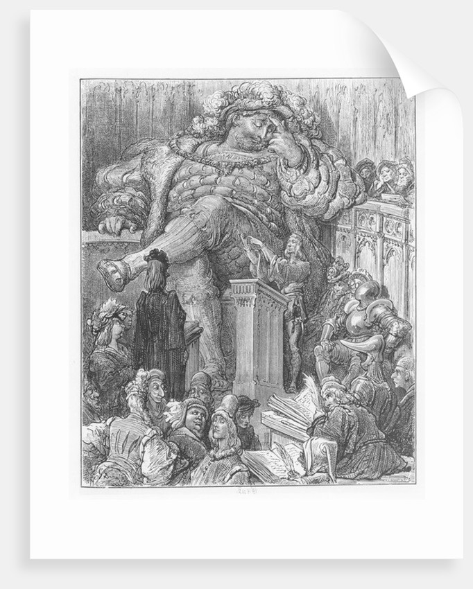 Illustration from 'Gargantua and Pantagruel', by François Rabelais by Gustave Dore
