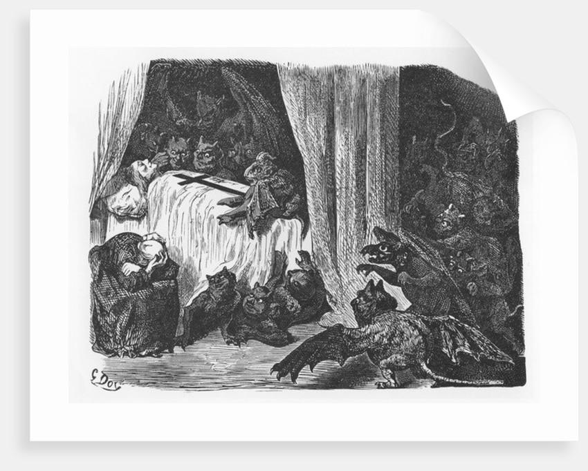 Illustration from 'Le Tiers Livre des Faicts et Dicts Héroïques du Bon Pantagruel' by François Rabelais by Gustave Dore