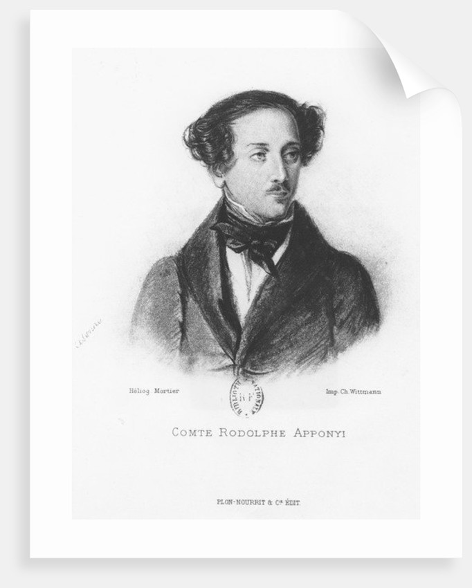 Comte Rodolphe Apponyi by French School