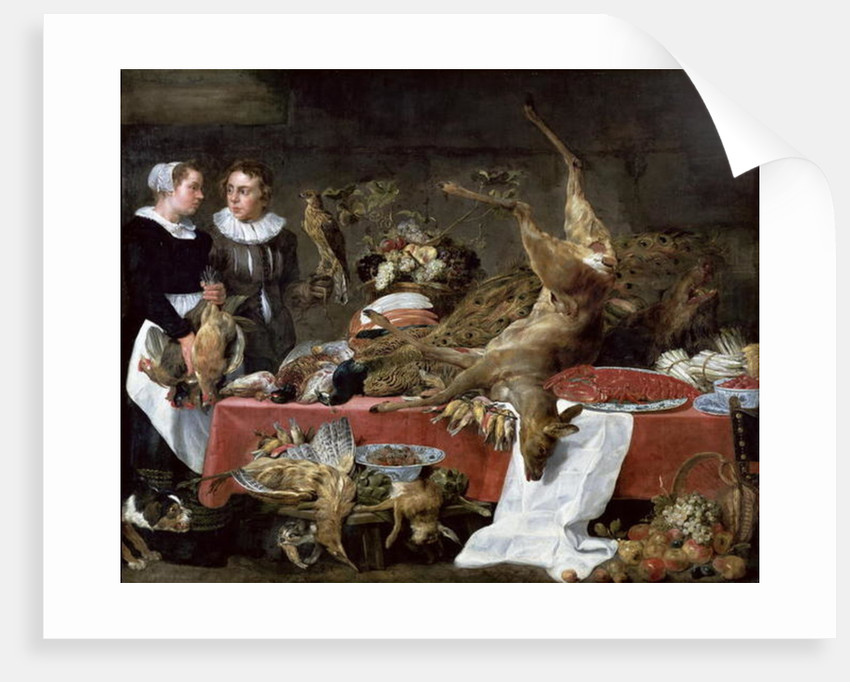 Le Cellier by Frans Snyders or Snijders