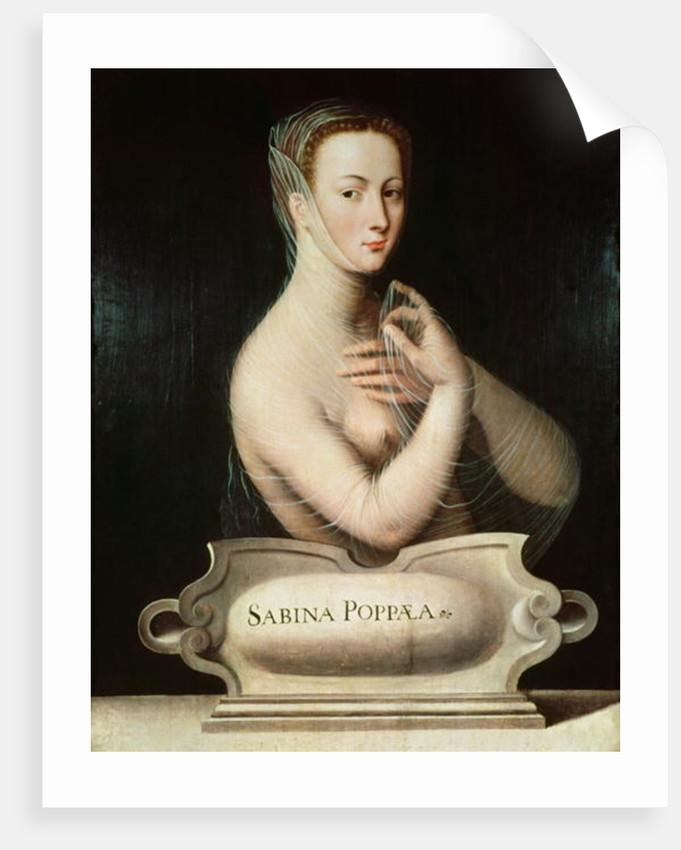 Sabina Poppaea by Fontainebleau School
