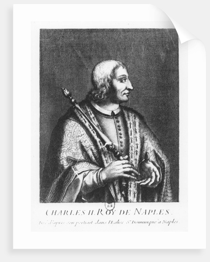 Charles II, the Lame, King of Naples by Pierre Duflos