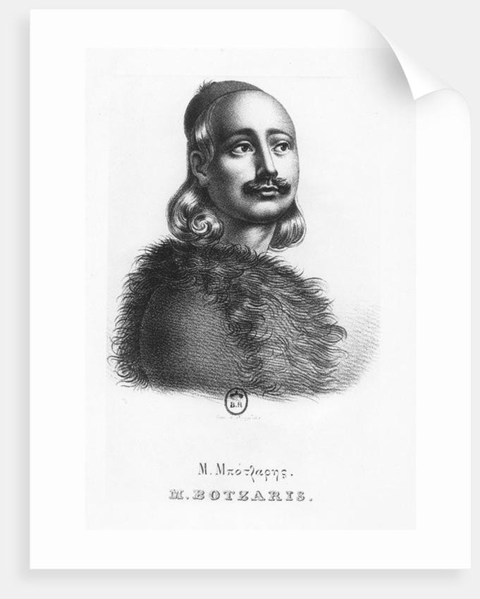 Markos Botzaris by Giovanni Boggi