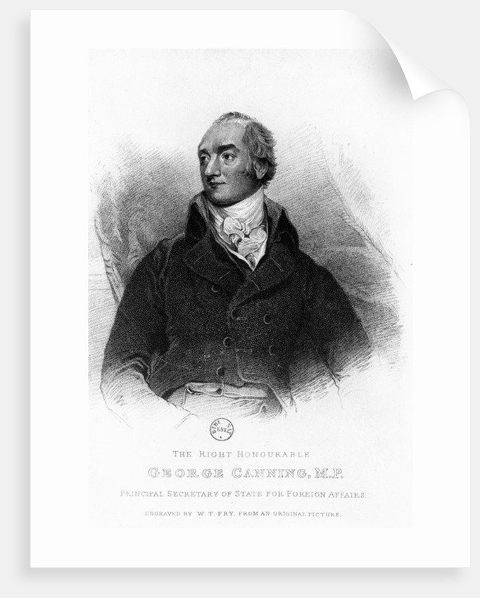 George Canning by William Thomas Fry
