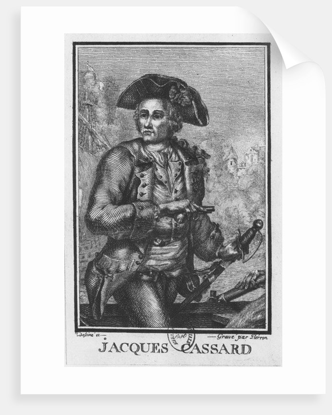 Jacques Cassard by Pierron