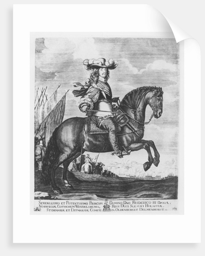 Frederick III of Denmark and Norway by French School